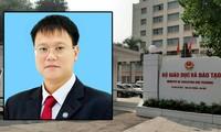 Thứ trưởng Lê Hải An tử vong tại nơi làm việc sáng nay