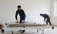 Trường Cao đẳng văn hóa nghệ thuật Vĩnh Phúc được trưng dụng làm bệnh viện dã chiến.