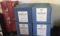 Các loại rượu ngoại không có giấy tờ hợp pháp đang trên đường vào các tỉnh phía Nam bị bắt giữ.