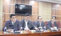 Đại diện Sở Thông tin và Truyền thông, Ban Tổ chức Tỉnh ủy, Sở Nội vụ, Ban Tuyên Giáo Tỉnh ủy Bắc Ninh thông tin về việc bổ nhiệm ông Nguyễn Nhân Chinh