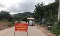 Một chốt kiểm soát dịch tại Bắc Giang