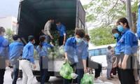 Tuổi trẻ Bắc Ninh hỗ trợ 'giải cứu' nông sản cho bà con Hải Dương
