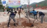 Tỉnh Đoàn Bắc Giang trồng cây xanh khởi động Thánh Thanh niên