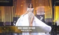 Bán kết Miss Grand International 2020: Ngọc Thảo catwalk thần sầu, hất váy cực ấn tượng