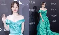 Trung thành với kiểu váy khoe vai thon trên thảm đỏ BAZAAR nhưng Dương Tử lại bị mất điểm