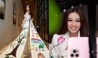 Ý nghĩa bộ vest Hoa hậu Khánh Vân mặc trong buổi phỏng vấn online với BTC Miss Universe