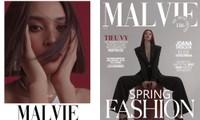 Hoa hậu Tiểu Vy bất ngờ xuất hiện trên bìa tạp chí Pháp với phong cách của một miêu nữ