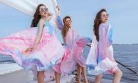 Hoa hậu chuyển giới Trân Đài cùng 2 Á hậu gợi ý trang phục đi biển đầy quyến rũ