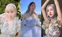 Ngọc Trinh xinh như công chúa, nhưng lại khiến liên tưởng đến Momo TWICE và Rosé BLACKPINK