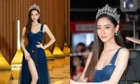 Nhan sắc lộng lẫy của Hoa hậu Lương Thùy Linh gây áp lực với thí sinh Miss World Vietnam