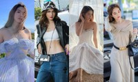 """Chỉ nửa đầu tháng Tư, Ngọc Trinh đã có hàng loạt bộ ảnh thời trang """"vạn người mê"""""""
