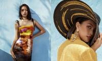"""Hoa hậu Tiểu Vy khoe """"đường cong nữ thần"""" với bộ ảnh thời trang chào Hè đẹp ngất ngây"""
