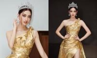 """Hoa hậu Lương Thùy Linh khoe visual chuẩn """"nữ thần"""", chiêu mộ không ít thí sinh Miss World"""