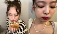 """Jennie BLACKPINK đăng ảnh selfie mới với kiểu trang điểm khiến fan """"ngỡ ngàng bật ngửa"""""""