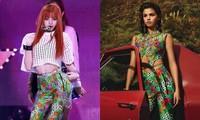 Lisa BLACKPINK nhiều lần mặc đụng hàng Selena Gomez, ai mặc đẹp hơn?