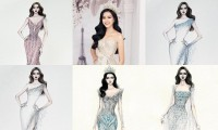 Thiết kế dạ hội nào được lựa chọn nhiều nhất cho Hoa hậu Đỗ Thị Hà tại Miss World 2021?