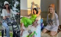 """Cuộc đua ảnh """"sống ảo"""" tại nhà của sao Việt: Chi Pu, Châu Bùi, Hậu Hoàng mỗi người một vẻ!"""