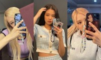 Jennie và Rosé BLACKPINK dùng cùng kiểu dây đeo điện thoại, là tạo trend mới hay gì?