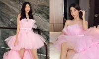 Hoa hậu Lương Thùy Linh khoe bộ ảnh chụp tại nhà, lộng lẫy như công chúa đón tuổi 21