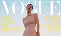"""Song Hye Kyo khoe thân hình """"siêu mỏng"""" trên bìa VOGUE khiến fan xém chút không nhận ra"""