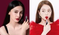 Jisoo BLACKPINK và Angelababy lại bị đưa ra so sánh khi cùng quảng cáo dòng son kinh điển