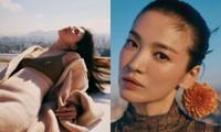 """Tiếc nuối loạt ảnh Song Hye Kyo bị VOGUE loại, fan cảm thán """"đúng là visual đỉnh của chóp"""""""