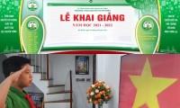 Hà Nội: Teen THCS Nguyễn Tri Phương hào hứng tham dự lễ khai giảng trực tuyến đầy sáng tạo