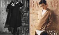 """""""Trai đẹp hơn hoa"""" Cha Eun Woo gây sốt khi mặc váy trên bìa Harper's BAZAAR Hàn"""