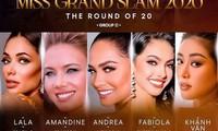 Á hậu Ngọc Thảo trượt Top 20, Hoa hậu Khánh Vân liệu còn cơ hội vào Top 8 Miss Grand Slam?