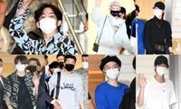 BTS sang Mỹ dự hội nghị LHQ, gây náo loạn mạng xã hội với màn xuất hiện cực ngầu ở sân bay