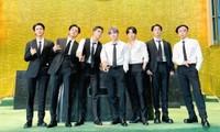 Sau bài phát biểu ở Đại hội đồng, BTS có màn biểu diễn tại trụ sở Liên Hợp Quốc