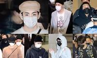 """BTS vừa trở về Hàn, trai đẹp V lại khiến netizen """"xỉu ngang"""" với chiếc túi giá cực khủng"""