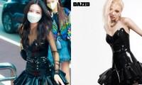 Rosé BLACKPINK và Yuna ITZY đụng độ bộ váy kén dáng, stylist nhà YG ghi điểm tuyệt đối