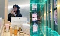 Khoe ảnh check-in tại spa đẹp nhất thế giới, Jisoo BLACKPINK khiến netizen đỏ mắt ghen tị