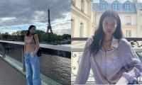 """Jennie BLACKPINK khoe loạt ảnh ở Paris, mặc đồ đúng kiểu """"đi chơi không quên nhiệm vụ"""""""
