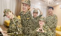 Hậu Hoàng đọc rap trong bài hát cảm ơn Sao Nhập Ngũ, nắm tay Mũi trưởng Long cực tình cảm