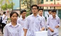 Lưu ý: Học sinh lớp 12 tại Hà Nội sẽ làm bài thi khảo sát vào ngày 11/5 - 12/5 tới