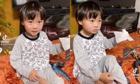 """YouTuber Quỳnh Trần JP gây tranh cãi khi quay clip phạt con, xưng hô """"mày - tao"""" với bé Sa"""