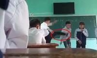 Lý do gì khiến gia đình các học sinh bị thầy giáo ở Bắc Giang đánh quyết định không kiện?