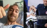 Sau 3 ngày bị đột quỵ ngay trên sân EURO, Christian Eriksen đăng ảnh mới trên Instagram