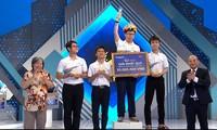 Nam sinh Hà Nội chiến thắng sít sao trong cuộc thi quý 3 Olympia, cách giải nhì chỉ 5 điểm