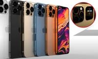 iPhone 13 Pro và Pro Max lộ thêm thiết kế với màn hình phụ phía sau mặt lưng cực đẹp
