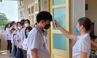 Sở GD&ĐT Hà Nội yêu cầu các trường sẵn sàng đón học sinh trở lại khi dịch được kiểm soát