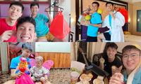Vui Trung thu cùng cầu thủ tuyển Việt Nam: Xuân Trường khiến dân mạng không thể nhịn cười