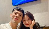 """Đình Trọng đăng ảnh mừng sinh nhật bạn gái, Bùi Tiến Dũng vội vào """"đánh dấu chủ quyền"""""""
