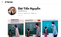 """Lên TikTok học Toán với thầy giáo """"hot"""" nhất Hà Nội"""