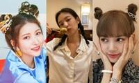 """Xinh xắn, trẻ trung lại """"bao"""" mát, bảo sao các nữ idol thích buộc tóc kiểu """"bé gái"""""""