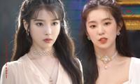 Tạo hình của Irene (Red Velvet) trong buổi live mới nhất giống hệt IU trong Hotel Del Luna