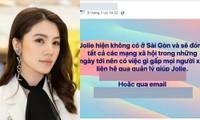 Jolie Nguyễn thông báo đóng tài khoản MXH, có liên quan đến việc Binz và Châu Bùi hẹn hò?