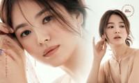 """Song Hye Kyo nhận """"bão"""" lời khen với bộ ảnh xinh đẹp ngọt ngào trên tạp chí W Hàn"""
